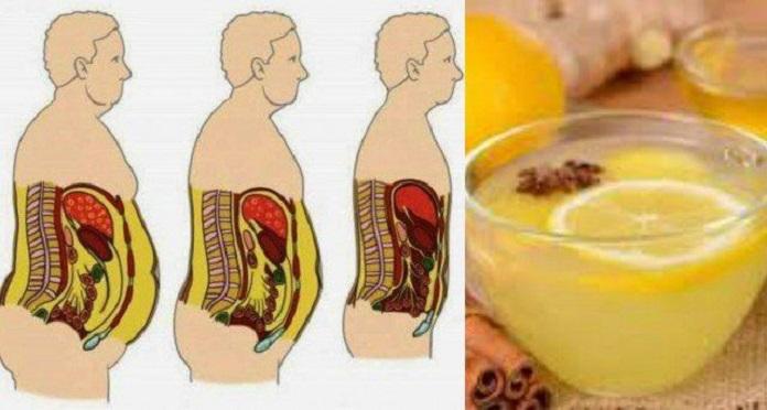 Bebida para eliminar as gordurinhas