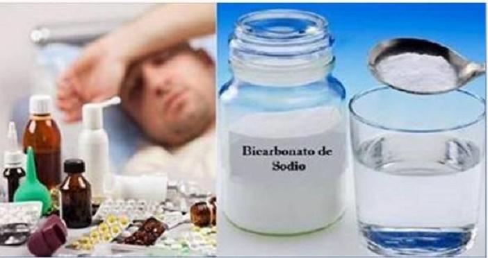 Remédio de bicarbonato de sódio pra gripe