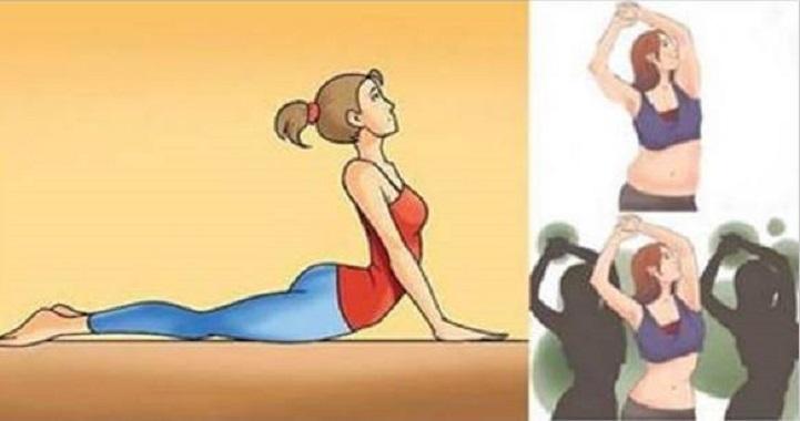 Ioga todas as manhãs reduz cintura