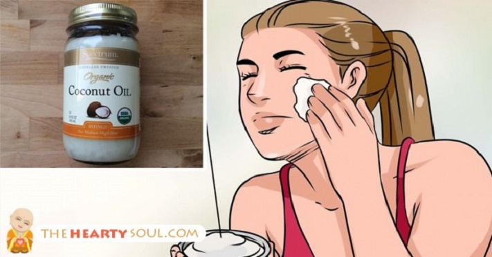 Óleo de coco para manchas na pele e rugas