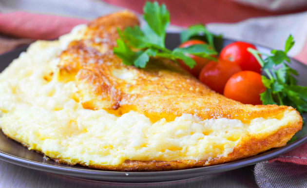 Receita de Omelete light