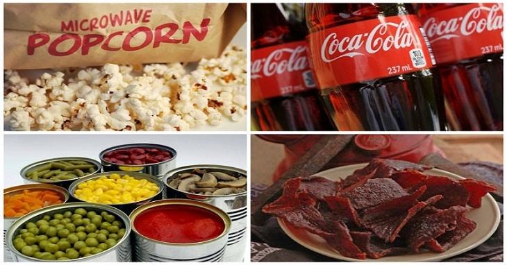 10 piores alimentos de todos os tempos