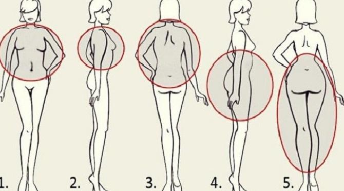 O que significa a localização da sua gordura