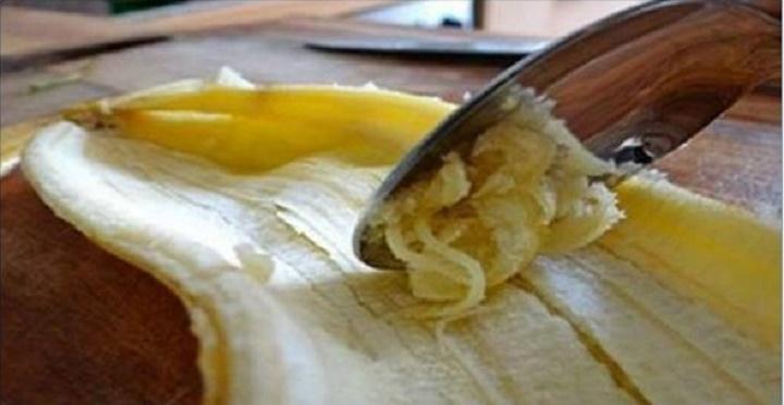 Você joga esta parte da banana fora? Depois de saber disto, nunca mais jogará