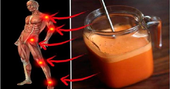 Bebida superpoderosa trata articulações inflamadas e fortalecer os ossos.