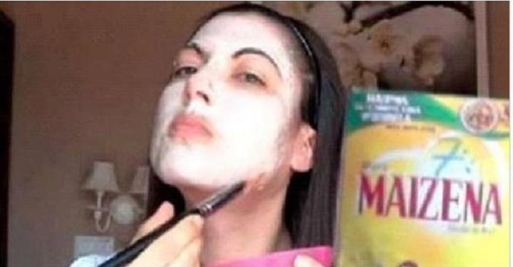 Máscara de maisena transforma a sua pele