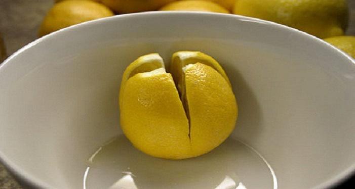 Corte 1 limão e coloque no seu quarto na hora de dormir