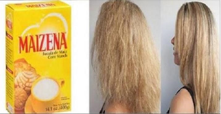 Mulheres de todo o mundo estão usando esta receita com maisena para o cabelo e estão adorando
