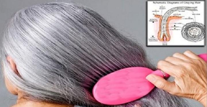 Como escurecer os cabelos brancos naturalmente sem usar nenhum tipo de tintura