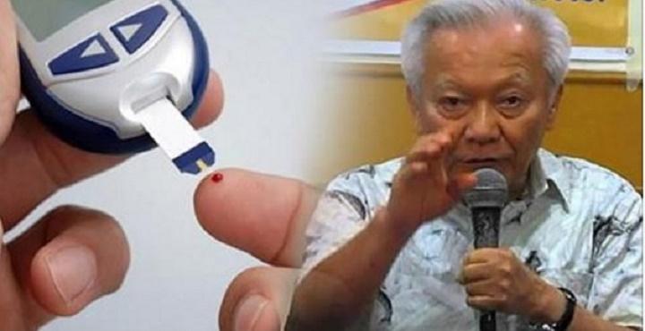 Médico filipino ensina receita que cura o diabetes em poucos dias