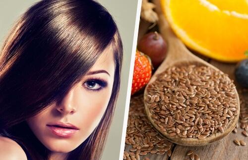 Remédio caseiro com água de linhaça para combater a queda e fortalecer o cabelo