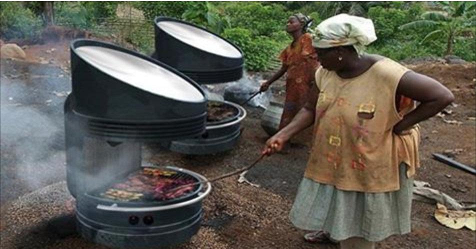 Americano cria churrasqueira solar que assa sem carvão ou lenha na hora que quisermos!