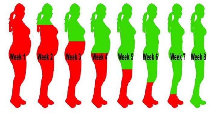 8 semanas consumindo esta bebida fará você desinchar e perder peso como nunca!