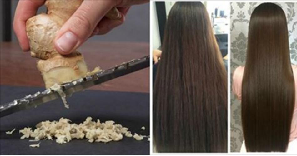 Evite a queda e estimule o crescimento dos cabelos com esta receita com gengibre