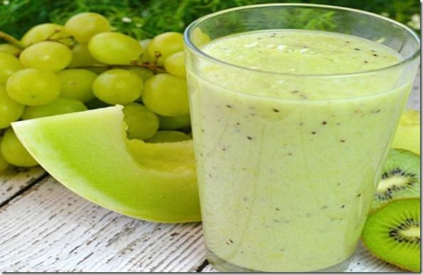 Melhore a circulação e elimine o inchaço com estas dicas e o suco de uva e melão