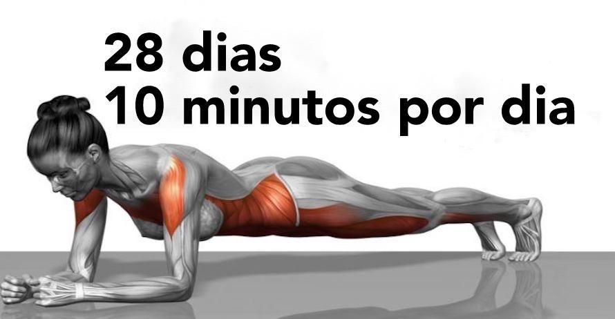 5 exercícios que vão transformar seu corpo em apenas 4 semanas