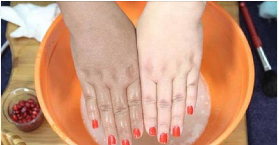 Mãos claras, macias e sem manchas com este incrível tratamento caseiro!