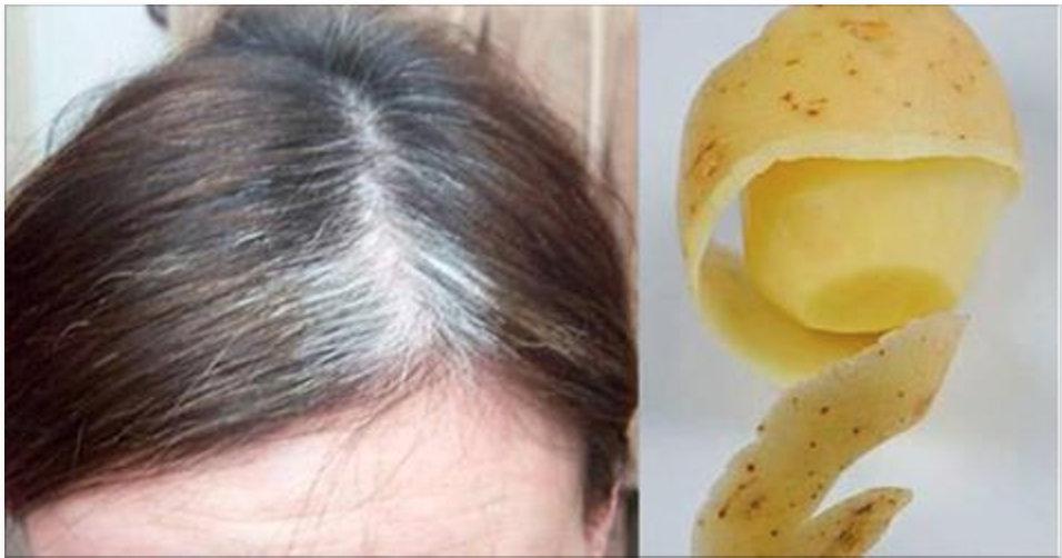 Escureça seus cabelos naturalmente apenas aplicando isto neles!