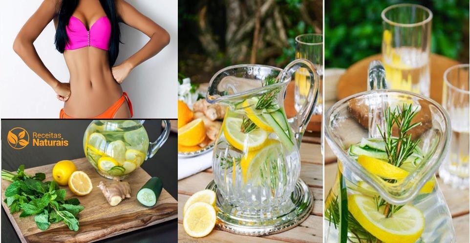 Bebida secreta que derrete a gordura da barriga em 4 dias