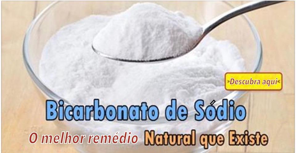 É por isto que o bicarbonato de sódio é o melhor e mais econômico remédio natural