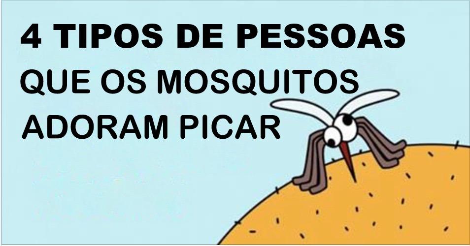 4 tipos de pessoas que os mosquitos adoram picar – será que você é uma delas?
