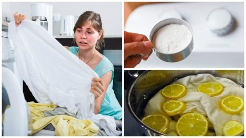 Suas roupas brancas estão amareladas? Não perca estes truques de lavagem!