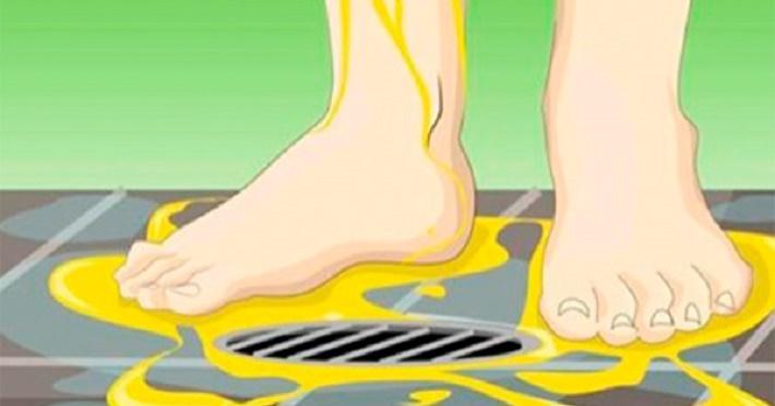 """""""Eles"""" nunca lhe dirão estes 4 motivos para você urinar nos pés durante o banho"""
