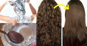 Shampoo caseiro para alisar o cabelo sem química