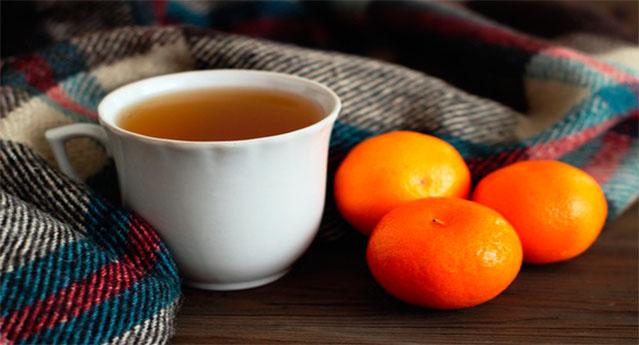 Durma em menos de 10 minutos com este incrível chá da casca de tangerina