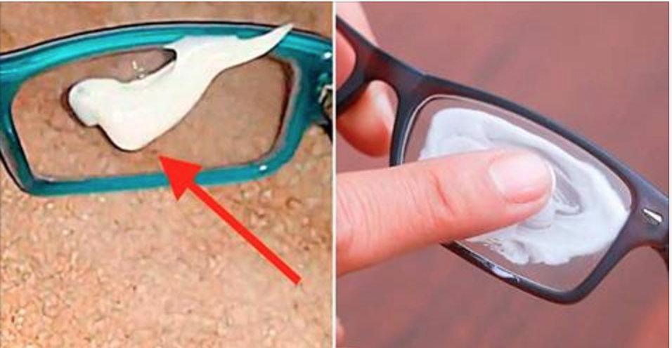 Passe isto nas lentes dos seus óculos e elimine todos os arranhões na hora!