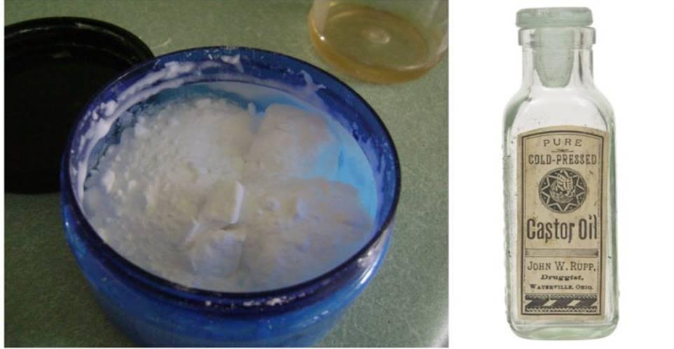 Inacreditável! Óleo de rícino e bicarbonato de sódio pode ajudar mais de 20 problemas de saúde!