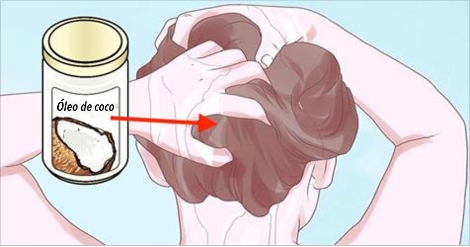 Como usar óleo de coco nos cabelos  para evitar a queda e conservar a cor deles por mais tempo!