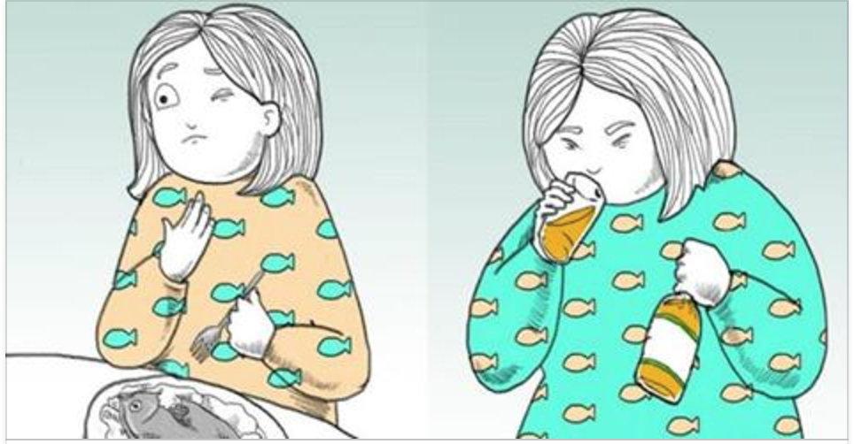 Como se livrar de uma espinha de peixe presa na sua garganta!