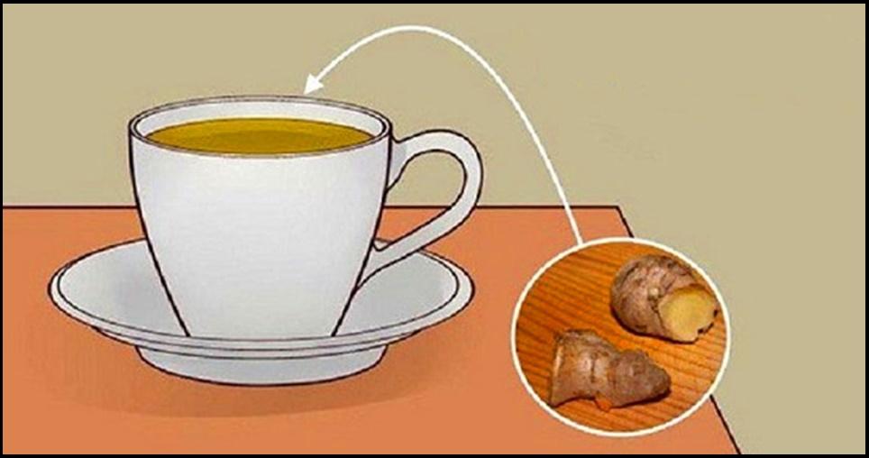 Aqui está o porque você deveria começar a tomar chá de gengibre todos os dias e como fazer da forma certa