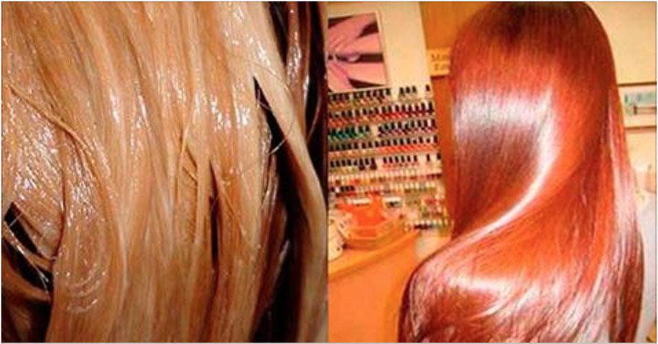 Cabelo liso e com brilho igual a este? Basta fazer este tratamento 100% natural!