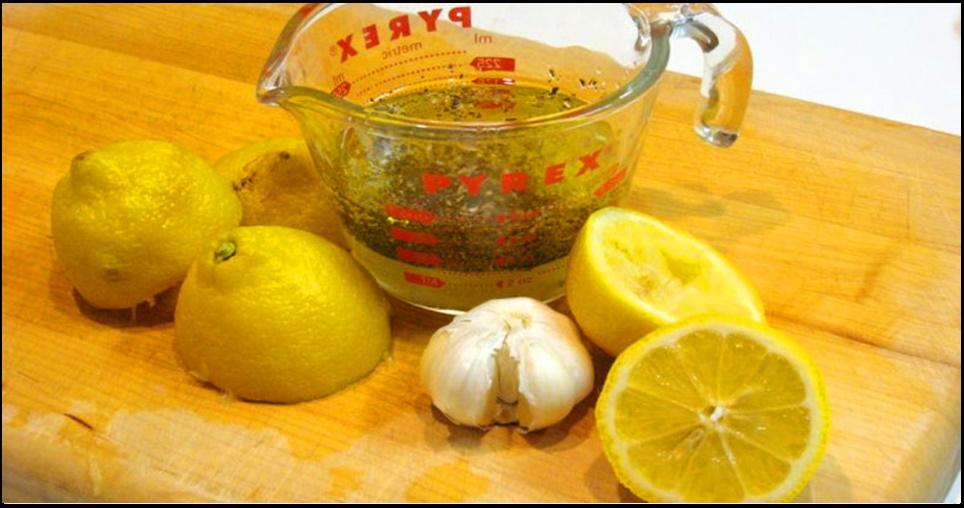 Limão com alho: a mistura mais poderosa para a limpeza de veias e do coração.