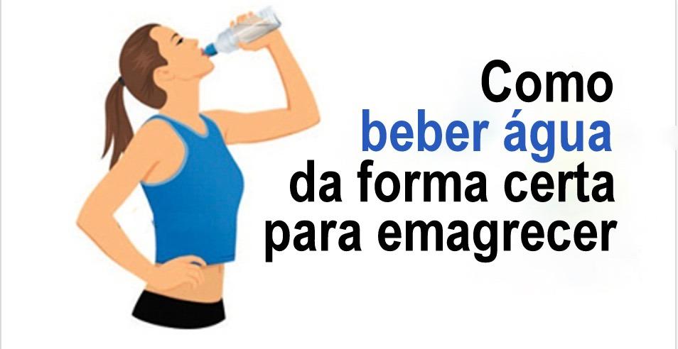 Aqui está como acelerar a perda de peso bebendo água da forma correta!