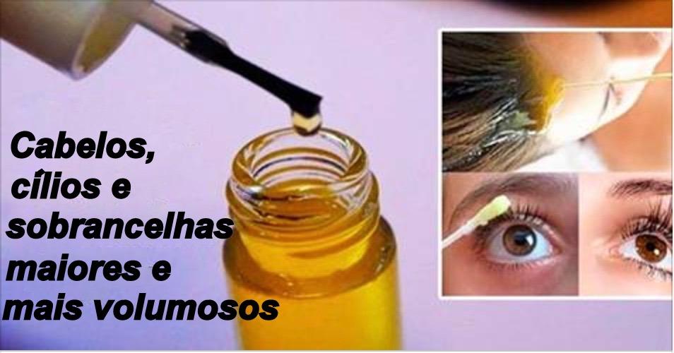 Este óleo vai fazer seu cabelo crescer muito mais rápido e dará volume aos cílios e sobrancelhas
