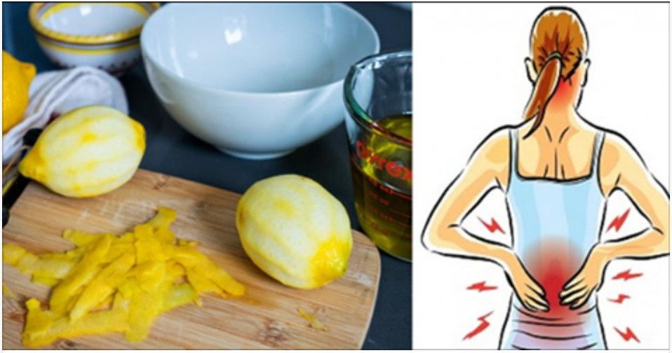 A casca de limão vai eliminar suas dores nas costas e articulações – aqui está como!