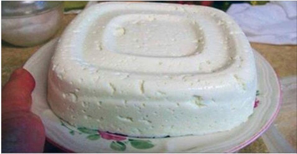 Olha como é fácil fazer um queijo fresco com apenas 3 ingredientes… Você tem que provar!
