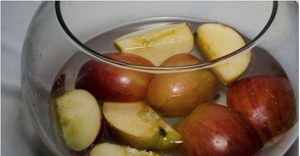 A incrível água de maçã – ela pode eliminar até 7 quilos em 1 mês se você consumi-la desta forma!