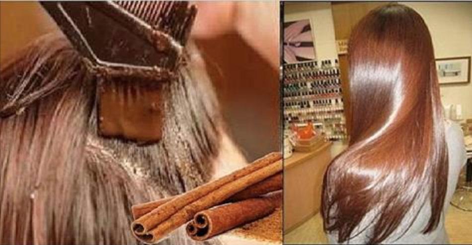 Poderosa máscara capilar de canela: seus cabelos vão brilhar e crescer como você nunca viu!