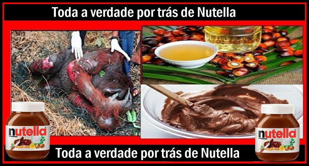 Toda a verdade por trás de Nutella – isto é o que fazem para o produto chegar à sua mesa!