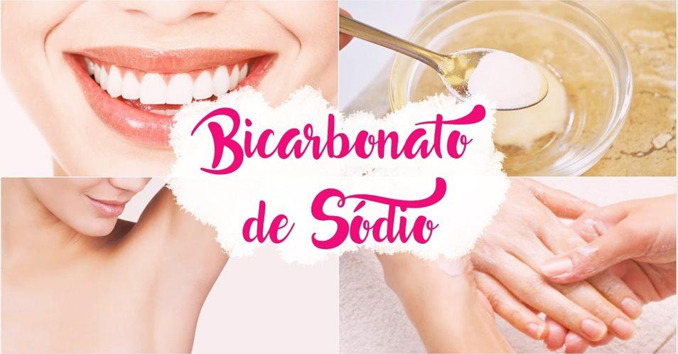8 usos surpreendentes do bicarbonato de sódio para a beleza