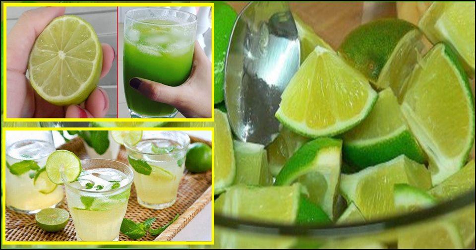 Água de limão para murchar a barriga, limpar o fígado e toxinas