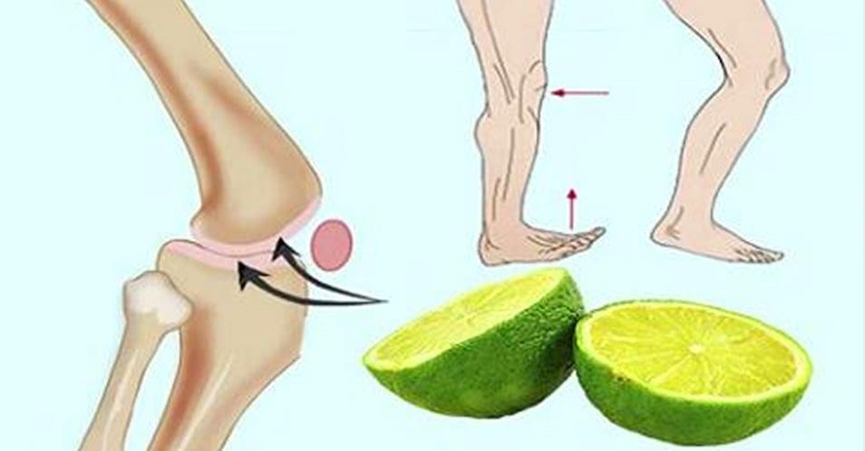 Use essa receita natural de limão e diga adeus às dores nas articulações e costas e cólicas à noite