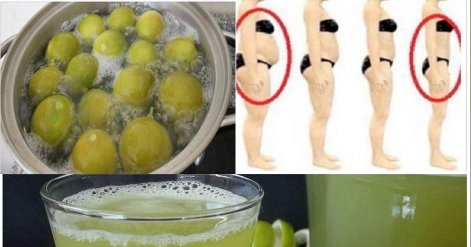 Suco Detox de Limão Para Emagrecer até 1kg Por dia