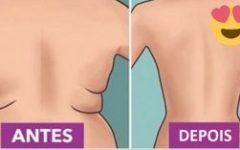 7 exercícios eficientes para reduzir as gordurinhas nas costas e cintura em apenas 2 semanas