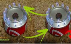 Truque muito útil – como cozinhar sem gás ou eletricidade com uma lata de Coca-Cola.