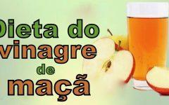 A dieta do vinagre de maçã – perca peso rapidamente com este vinagre